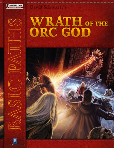 Cover of Wrath of the Orc God