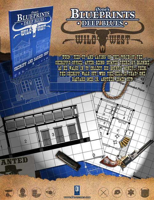 ... and Barber Shop - 0one Games 0ones Blueprints DriveThruRPG.com