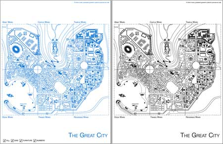 Øone's Blueprints: The Great City, 0one Games