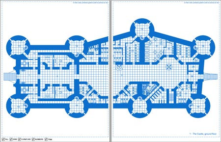 0one 39 S Blueprints The Great City Castle Ward 0one