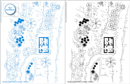 0ones blueprints the ruined town dungeon of the 13 undead 0one dungeon of thirteen undead entrance malvernweather Images