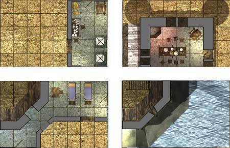 Skirmish Tiles Castle System First Level 0one